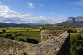 Medieval castle in Aínsa, Pyrenees