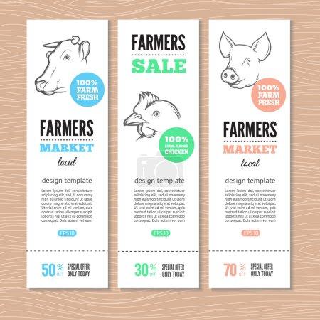 farm vertical banners