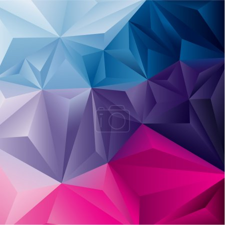 Edgy abstract colorful background