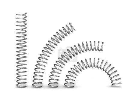 3d steel springs