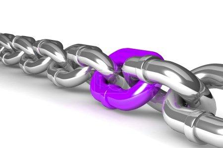 Single chain link
