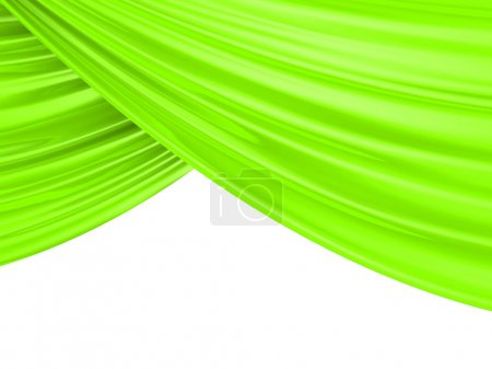 Green Abstract Cloth