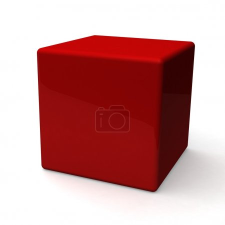 Blank red box