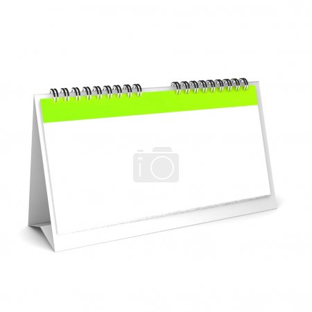 3d Blank calendar