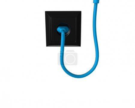 electric plug and a cable