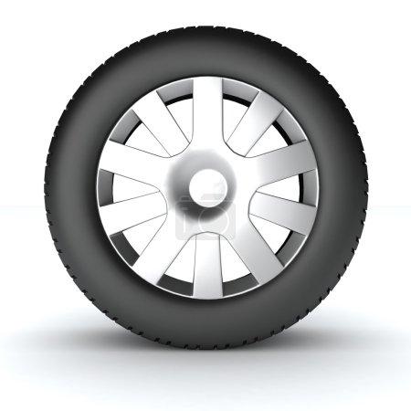 Wheel car l illustration.