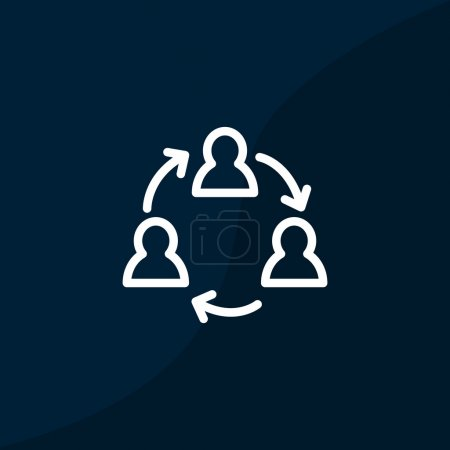 Communication symbol web icon