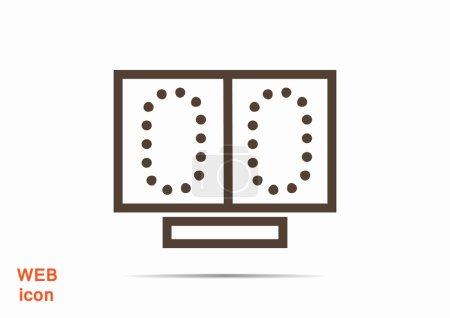 scoreboard web icon