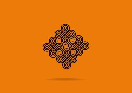 Pattern decor web icon