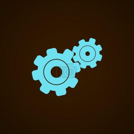 Illustration pour Illustration vectorielle de l'icône Configurer le Web - image libre de droit