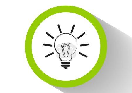 Bulb web icon
