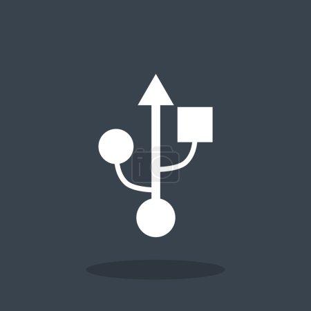 USB web icon