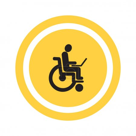 Disabled working in Internet