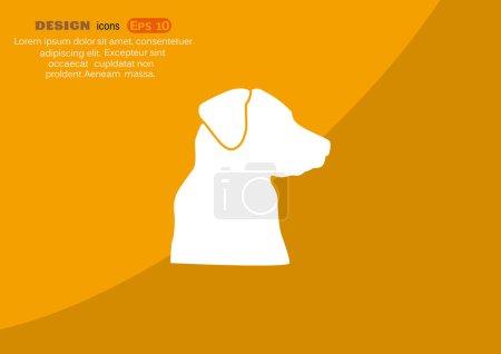 Dog, web icon