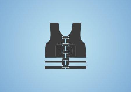 Life jacket web icon