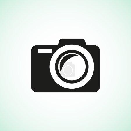 Photo camera simple web icon