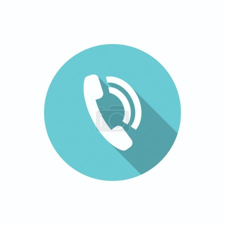 Phone call web icon