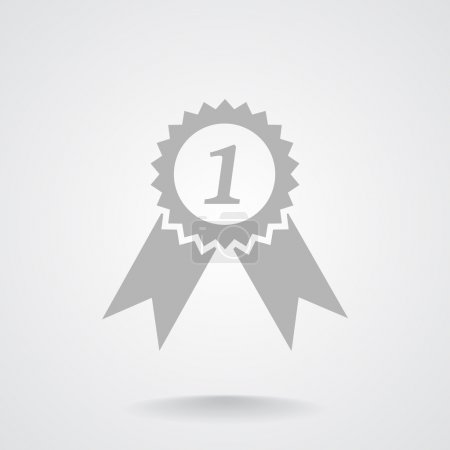 Medal for first place, web icon
