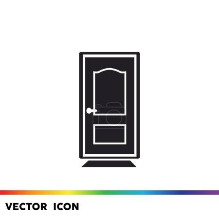 Puerta cerrada icono web