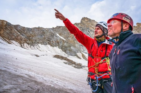 Climbers discuss tactics rise to the top