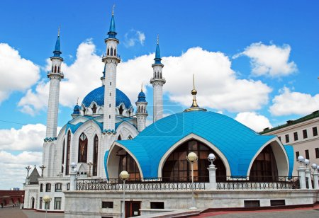 Qol Sharif mosque in Kazan kremlin