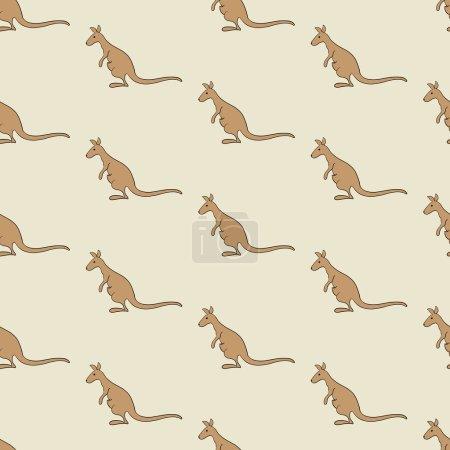 Background with kangaroo
