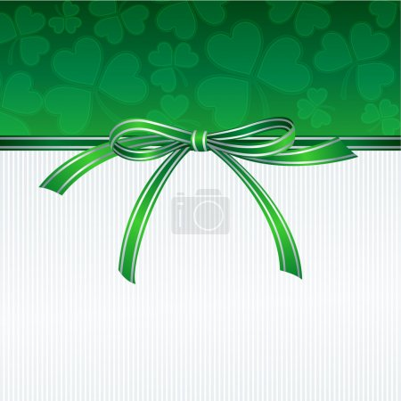 Illustration pour Journée Saint-Patricks Contexte. Illustration vectorielle SPE 10 - image libre de droit