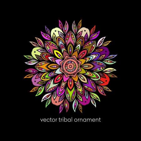 Mandala. Ethnic decorative elements.Vector illustration
