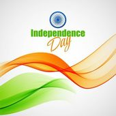 Creative Indian Independence Day concept Vector illustration