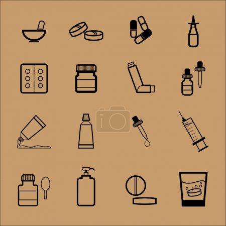 Pharmacy drug dosage form