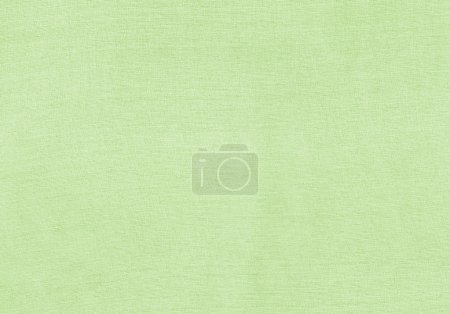 Natural cotton texture background. Green textile in circles