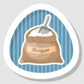 Sugar bag icon Sugar bag icon eps 10 Sugar bag icon vector Sugar bag icon jpg Vector illustration