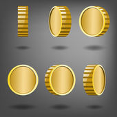 Rotation gold coins