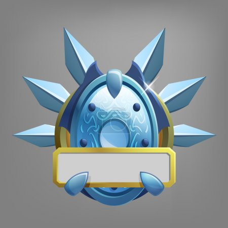 Coat of arms icon for game interface.
