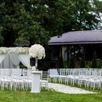 Wedding ceremony decorations...