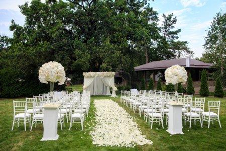 Beautiful wedding set up