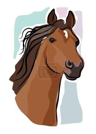 Sketchy Horse head