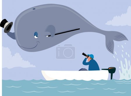 Whale poser