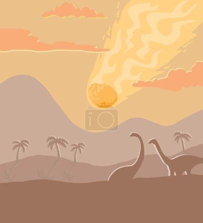Prehistoric asteroid strike