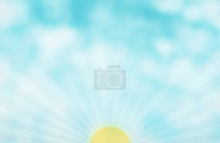 Abstract color background with light Sunrise concept