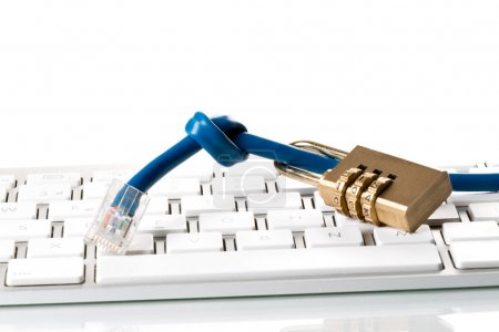 Data cable, combination lock and Computer Keyboard