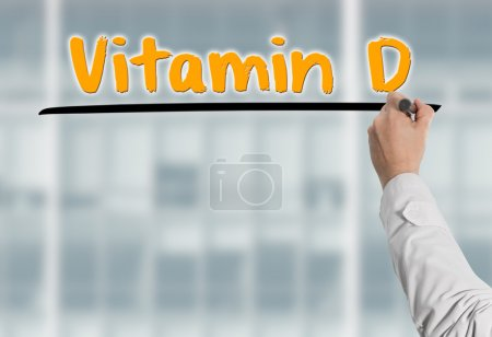 Doctor writes Vitamin D