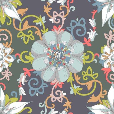 Beautiful elegant floral design
