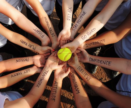 Fastpitch Softball Motivation Circle