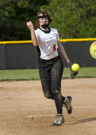Fastpitch Softball Pitcher Bring A Fastball
