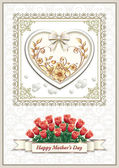 Greeting card on Mother's Day