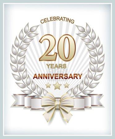 Anniversary card 20 years