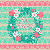 Be happy card