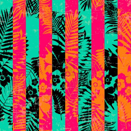 Seamless Exotic pattern
