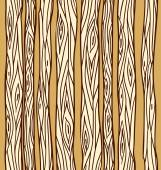 Seamless texture with doodle tree trunks Vector element for your creativity